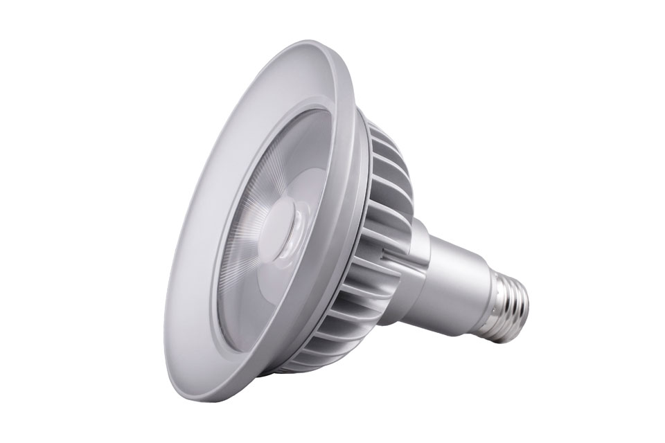 Spot bulb PAR38 LED 9 °, 2700 K. SORAA.