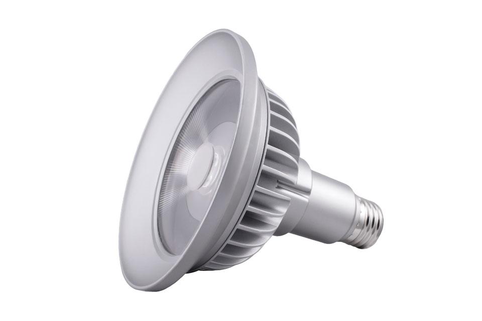 Spot bulb PAR38 LED 9 °, 3000 K. SORAA.