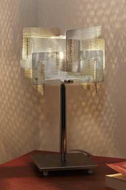 Cube lampe inox. Thierry Vidé.