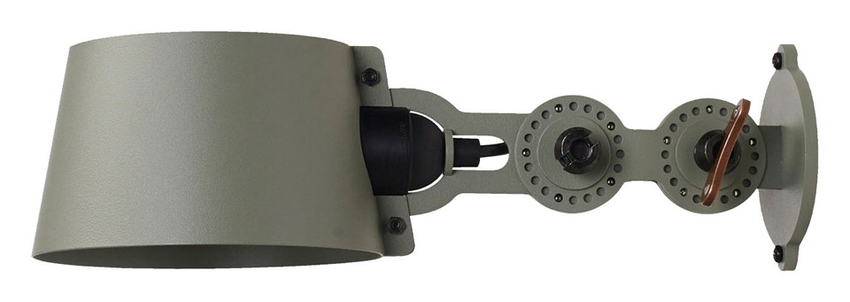 Applique en métal vert kaki style industriel Bolt. Tonone.