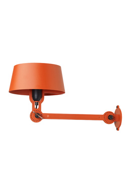 Applique orange esprit loft industriel Bolt. Tonone.