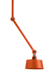 Articulated ceiling lamp orange, two arms Bolt. Tonone.