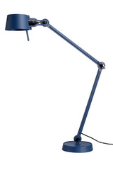 Desk lamp in mat blue with two arms Bolt Desk. Tonone.
