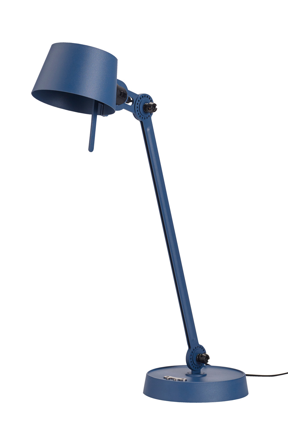 Large Desk Lamp With One Arm Only And A Steel Base Blue Tonone