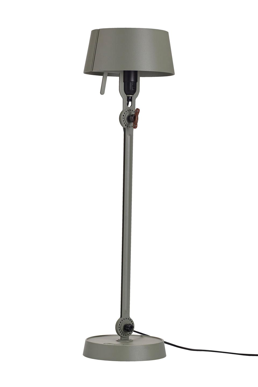 Grande lampe de table vert kaki style atelier Bolt. Tonone.