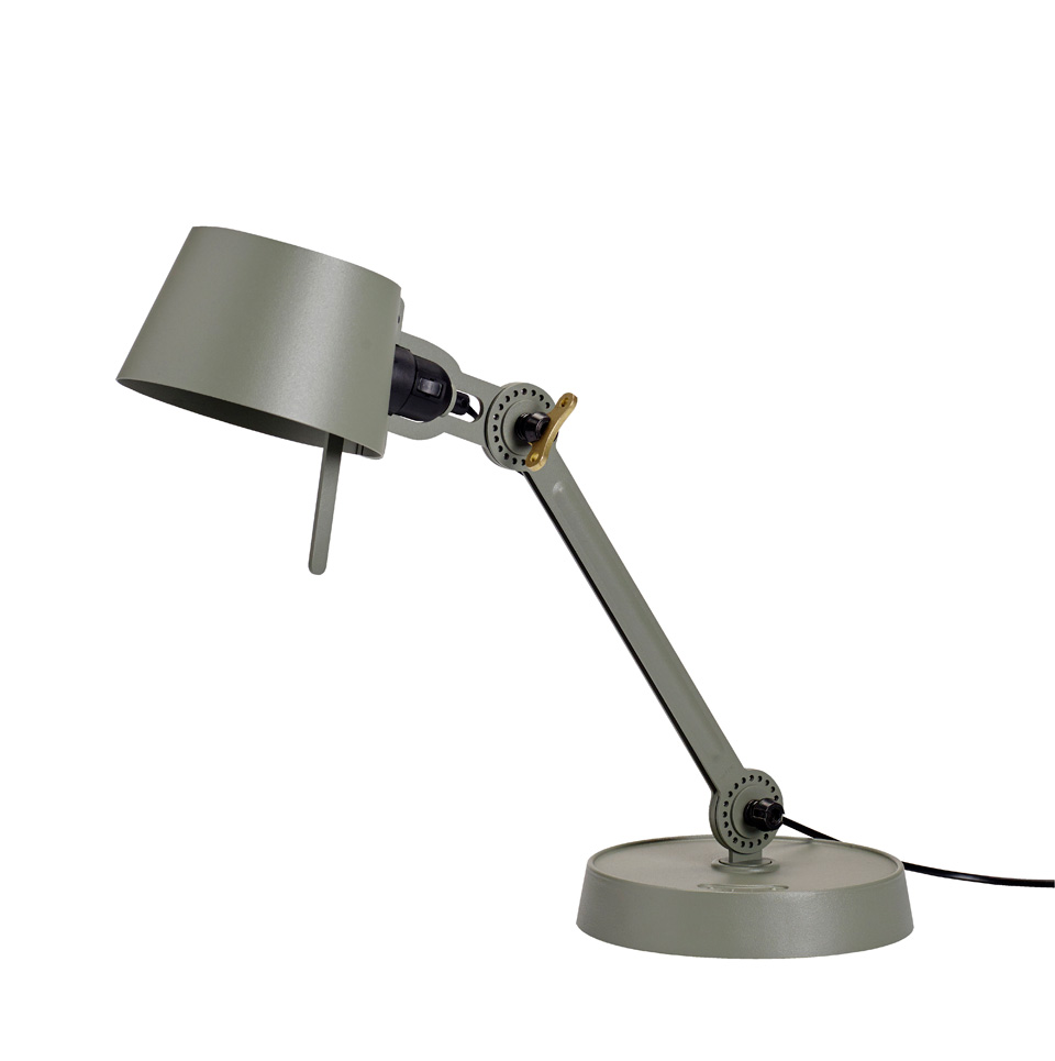petite lampe de bureau kaki style industriel en m tal bolt desk tonone luminaires design. Black Bedroom Furniture Sets. Home Design Ideas