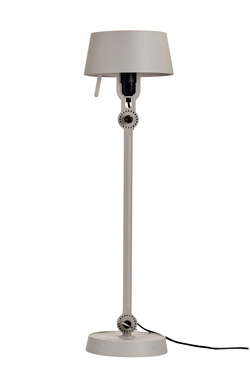 Large grey steel table lamp industrial style Bolt . Tonone.