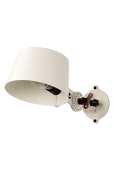 Lighting white design metal wall lamp small model. Tonone.