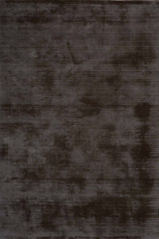Tons gris fonc tiss main soie v g tale 100 tencel for Tapis salon gris anthracite