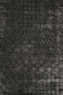 Patwork Gris Tricot 100 Soie V G Tale Toulemonde Bochart Tapis Design Et Contemporains