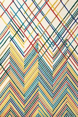 Lignage Multicolore Fond Beige Tuft Main 100 Laine Nouvelle Z Lande Toulemonde Bochart