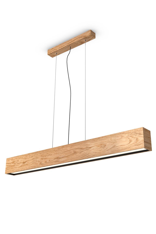 Woodled Linus Rectangular Oak