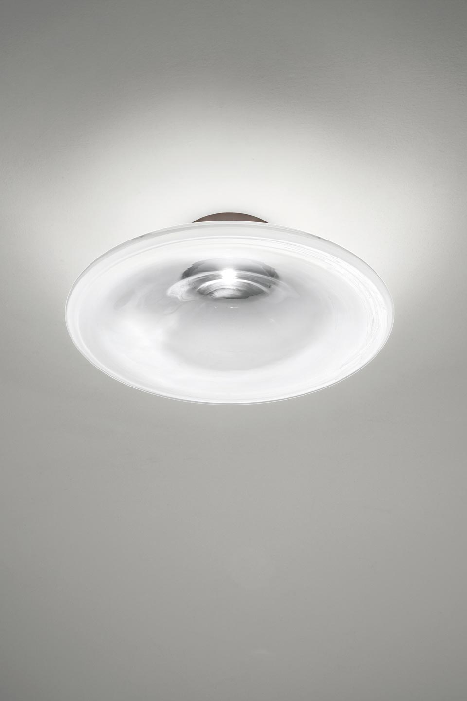 Incanto Ceiling Lamp In White Gl And