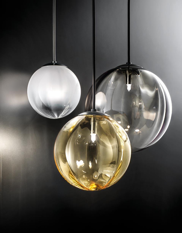 Puppet Small Pendant In Satined White Glass Vistosi Murano Blown Glass Lighting Designer Ref 19040024