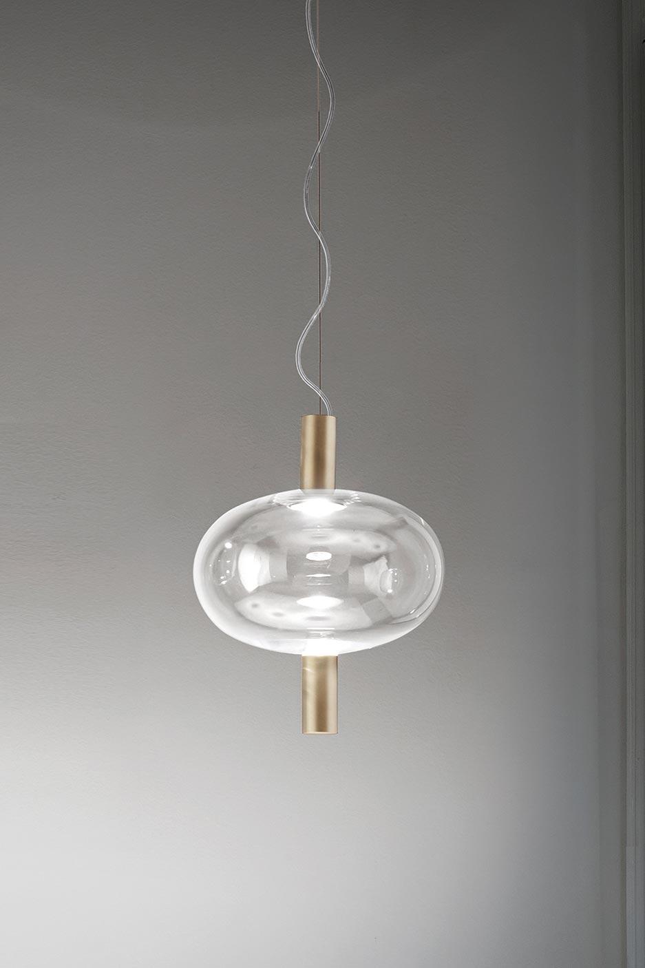Reflex Contemporary Oval Pendant Lamp