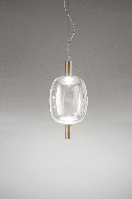Reflex Elongated Pendant Lamp With Led