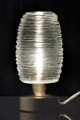 Murano glass table lamp Damasco collection in  a Bozzolo. Vistosi.