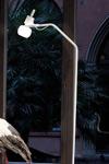 Vega lampadaire verre de Murano - Blanc. Vistosi.