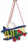 Aéroplane multicolore XXL suspension . Waldi Leuchten.