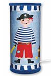 Pirate bleu foncé lampe . Waldi Leuchten.