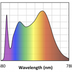 Spectrum of bulb Soraa Vivid MR16 at 4000K
