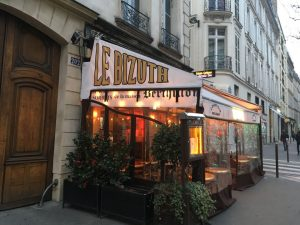 Restaurant Le Bizuth à St Germain des Prés